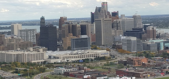 HELICOPTER TOUR DETROIT